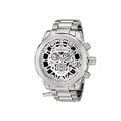 Invicta Men's 18863 Corduba Analog Display Swiss Quartz Silver Watch