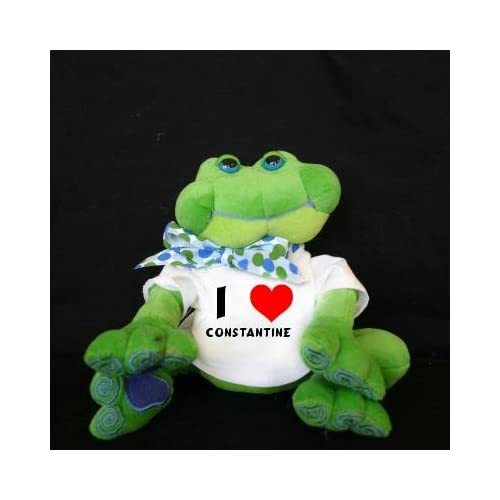 Amazon.com: Plush Frog (Thad Polz) toy with I Love