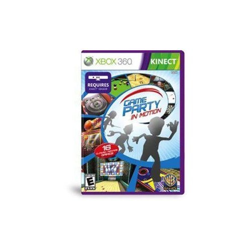 NEW Game Party: In Motion KINECT (Videogame Software)