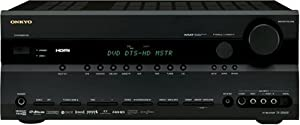 Onkyo TX-SR605 7.1 Channel Home Theater Receiver (Black) (Discontinued by Manufacturer)