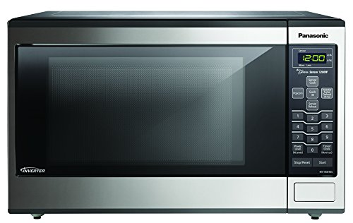 Learn More About Panasonic NN-SN643S Stainless 1200W 1.2 Cu. Ft. Countertop Microwave Oven with Inve...