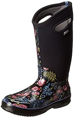 Amazon.com: Bogs Women's Classic Winter Blooms Tall Winter