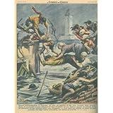 Ad Alba, un ragazzo salva gli inquilini di una casa in seguito allo straripamento di un fiume.