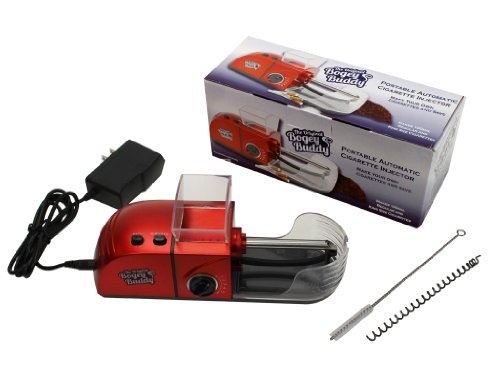 Cigarette Injector - The Original Bogey Buddy - Automatic Cigarette Maker Rolling Machine - Portable Edition with Density and No-Clog Controls