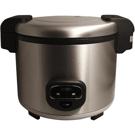 Aroma 60-Cup Cool Touch Commercial Rice Cooker, Stainless Steel (Aroma 60 Cup Rice Cooker compare prices)