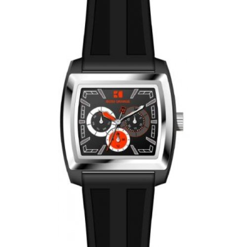 BOSS ORANGE Black Rubber Mens Watch 1512604