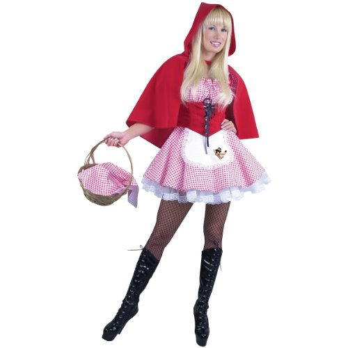 Little Red Riding Hood Costume - X-Small - Dress Size 3-5