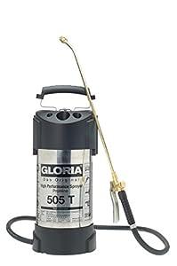 Gloria Drucksprüher Hochleistungssprühgerät 5L Edelstahl Ölfest 505TProfi, silber  GartenÜberprüfung und Beschreibung