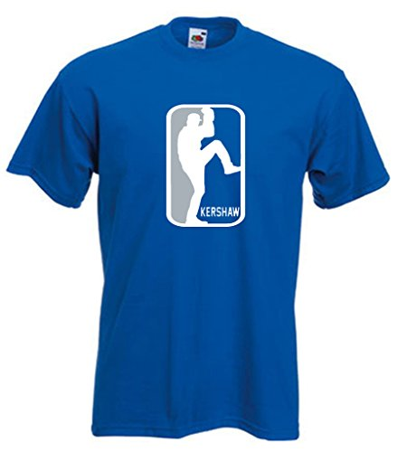 "Los Angeles Dodgers Clayton Kershaw ""LOGO"" T-Shirt ADULT XL"