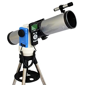 "Silver 3"" Computer Controlled Reflector Telescope / Built-in Automatic Star Finding Computer / iOptron SmartStar-E ""Go To"" Mount / Full Size Tripod"