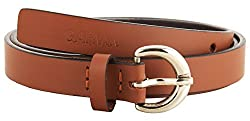 Garvan Women's Brown Leather Belt (LBW 3-Brown-B, Size : 32)
