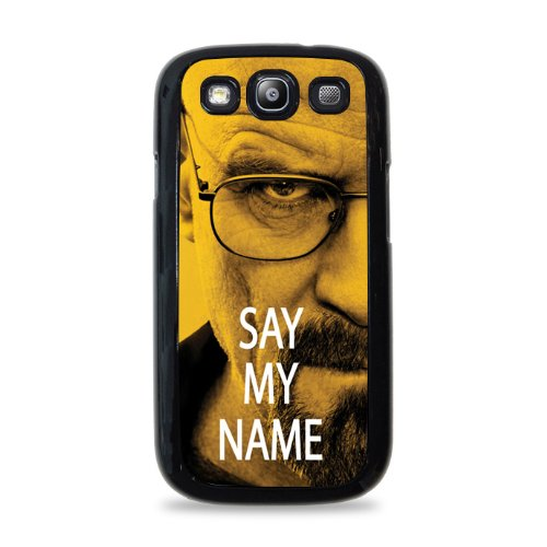 698 Walter White Say My Name Samsung Galaxy S3 Hardshell Case - Black front-1007453