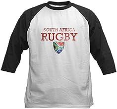 CafePress Kids Baseball Jersey - South Africa Rugby designs Kids Baseball Jersey