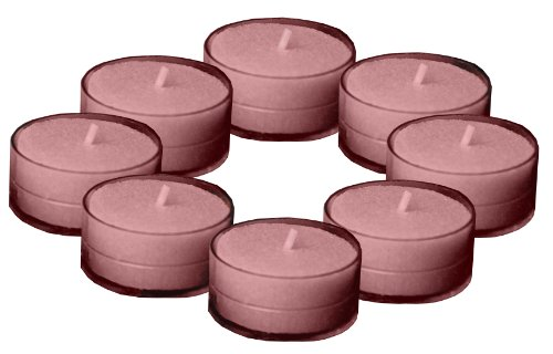 Root Scented Tealight Candles, Pink Grapefruit Blossom, Box of 8