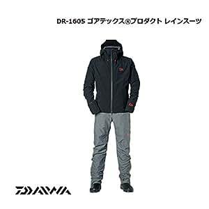 ダイワ(Daiwa) ゴアテックス プロダクト レインスーツ DR-1605 ブラック S