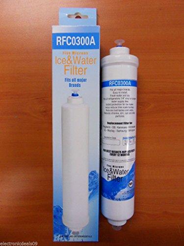 Rfc-300A Compatible Water Filter For Lg 5231Ja2010A,5231Ja2010B,5231Ja2010B-9808,Samsung Da29-10105J;Gxrtdr,Gxrtq,Gxrtqr,Ef9603;Dd7098;Wf283;Sbs7052-4;R200,K2567Jj,K5567Bb,Wsi-1;Gs-10-B;Gs-10-Jg14,3010541600;3019974100;3650Jd8050A,497818;Ap4405223 front-342457