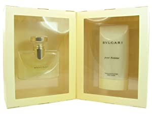 Bvlgari 2pc Set Eau De Parfum 3.4 Oz, Body Lotion 6.8 Oz by Bvlgari for Women