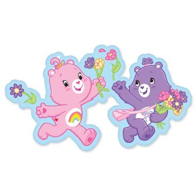 Care Bears Car Sticker Bumper Stickers Flower Parallel Import Goods front-685175