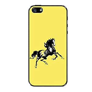 Vibhar printed case back cover for Apple iPhone 6 Plus YellowHorsie