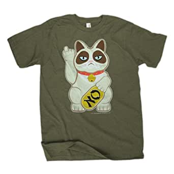 Grumpy Cat Grumpy Fortune Men's Vert T-Shirt | S