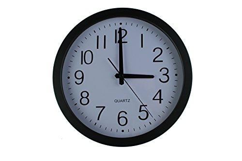 "HomeFlav 11.75"" Non-ticking Silent Quartz Wall Clock - digital, modern,vintage,large,decorative, contemporary,kitchen wall clock"