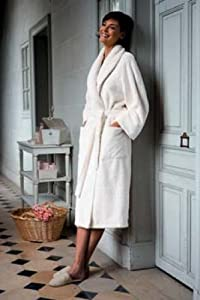 Yves Delorme Etoile Bath Robe In Large Size