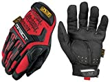 Mechanix Wear M-Pact MPT-02 Red 8 Synthetic Leather/Trekdry Mechanics Gloves - Thermoplastic Elastomer Fingers & Knuckles Coating - MPT-02-008 [PRICE is per PAIR]