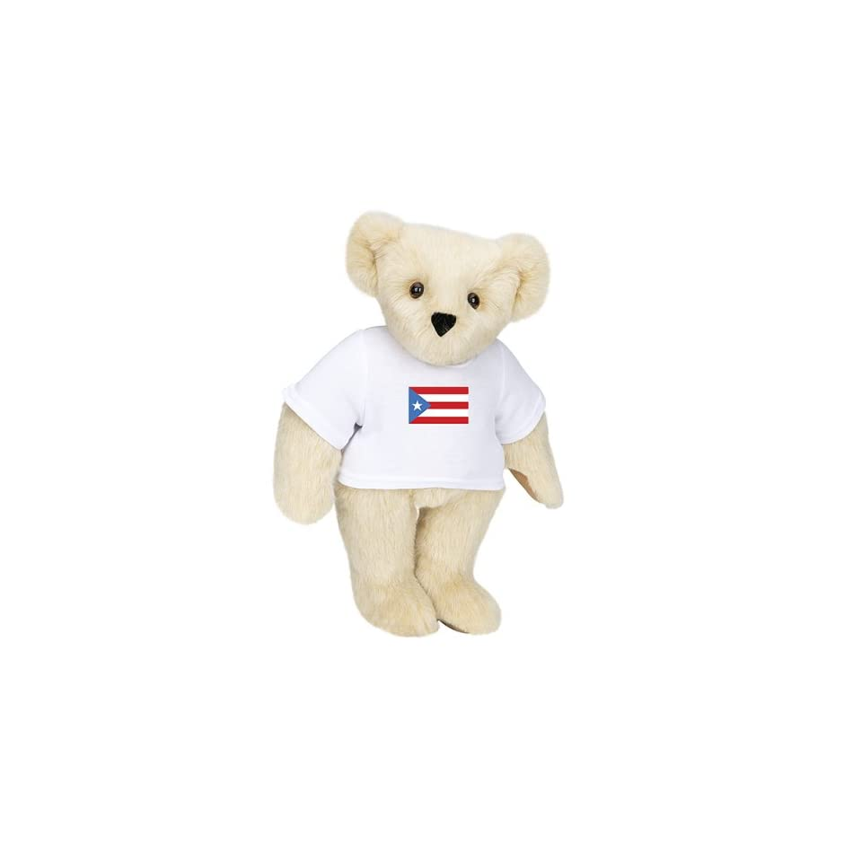 15 T Shirt Bear   Puerto Rico Flag   Buttercream Fur