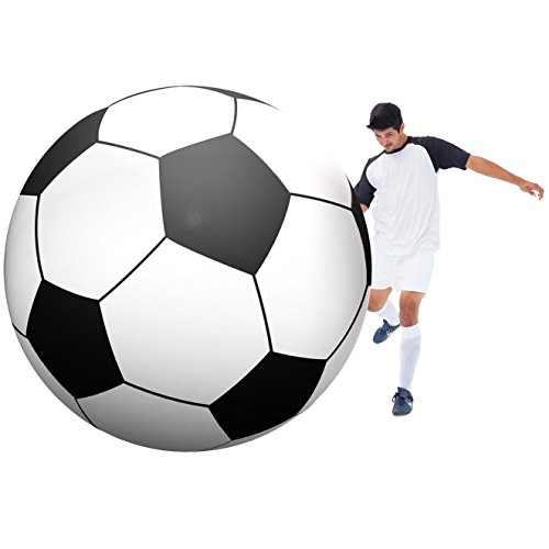 Discover Bargain GoFloats Giant Inflatable Soccerball - 6 Feel Tall