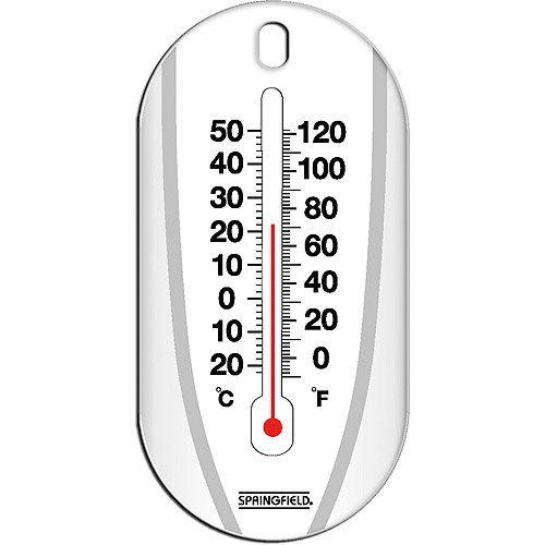 Suction Cup Tube Thermometer: Mercury-free - Outdoor Thermometers
