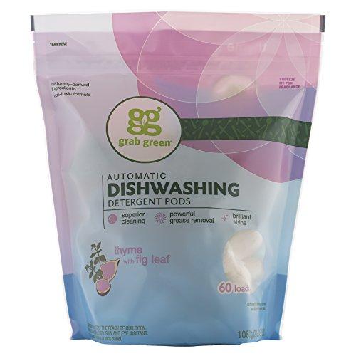 el-detergente-para-lavavajillas-automaticos-tomillo-con-la-figura-de-la-hoja-grabgreen