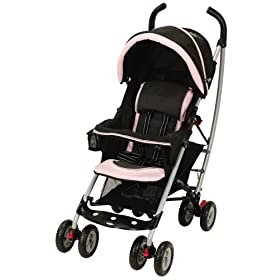 Graco Pink And Brown Travel System
