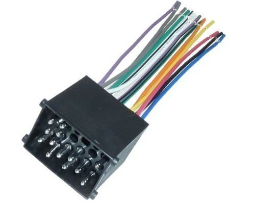 DIN ISO Auto Radio Adapter Kabel Stecker offen