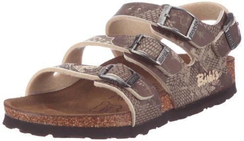 Birki Ellice Sandals Boys Beige Beige (AVIATOR BROWN-BEIGE) Size: 31