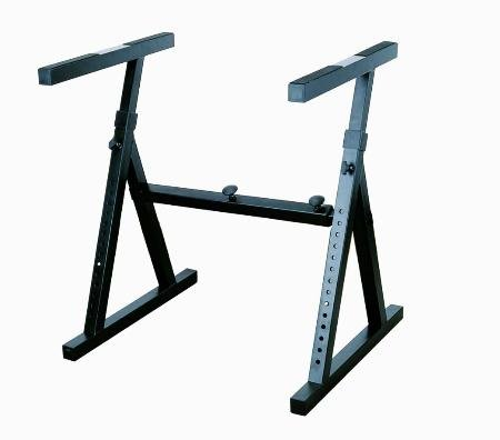 Cheapest Price! Stellar Labs 555-13830 Heavy Duty Keyboard Stand with Adjustable Width and Height