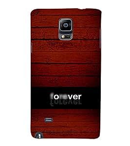 EPICCASE Forever Mobile Back Case Cover For Samsung Galaxy Note 4 (Designer Case)