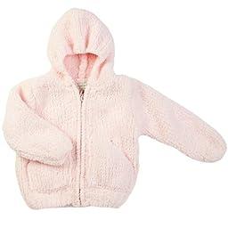 Angel Dear Girls\' Fleece Zip Hoodie - Pretty Pink - 2T