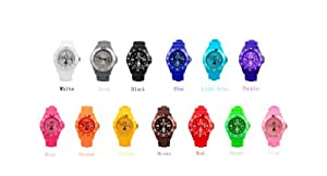 Paris Watch 14 Colors Kids Special Collections