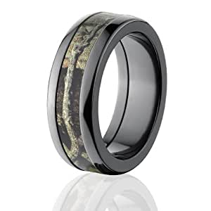 Mossy Oak Rings Camouflage Wedding Band Break Up Infinity Camo Rings