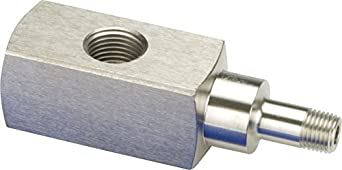 "Enerpac GA-4 Gauge Adapter, 4.38"" Length"