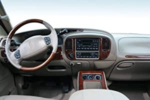 Lincoln navigator interior burl wood dash trim kit set 2000 2001 2002 automotive 2000 lincoln navigator interior