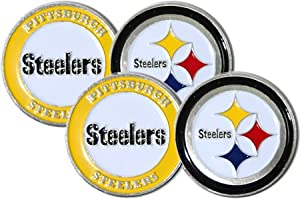 Pittsburgh Steelers Ball Marker Set from SteelerMania