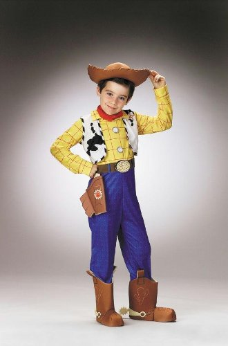 Costumes For All Occasions Dg5234K Toy Story Woody Dlx Ch 7 To 8