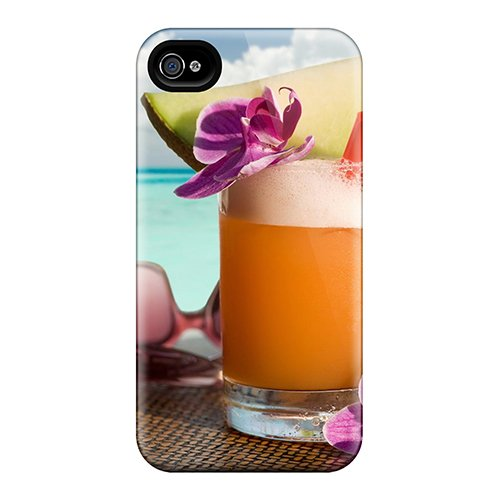 Ultra Slim Fit Hard Aimeilimobile99 Cases Covers Specially Made For Iphone 6plus- Beach Drink