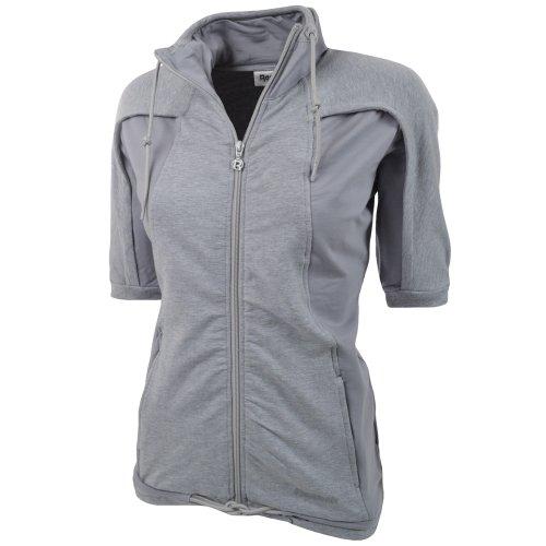 Reebok Womens 3/4 Running Track Top Jacket - Grey