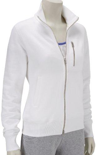 Nike Womens Loopwheeler Track Jacket White 331649-100 10/12