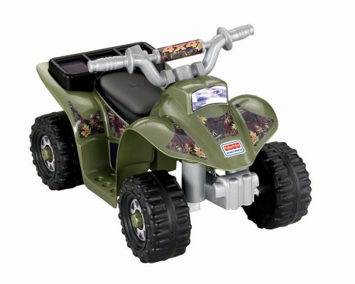 Fisher-Price Power Wheels Camo Lil' Quad (Fisher Price 6volt Battery compare prices)