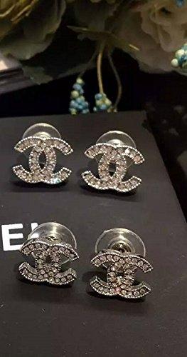 chanel-earrings-silver