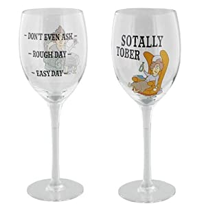 Aunty acid wine glasses drinking funny quotes gift glass drink kitchen champagne dont even ask - Funny wine glasses uk ...