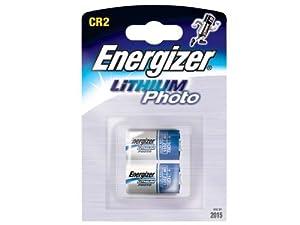 2 X Energizer CR2 3V Lithium Photo Batteries